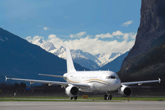 New additions to Tyrolean Jet Services' fleet include two Airbus ACJ319.