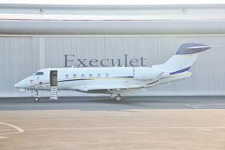 The Challenger 350 is one of the first aircraft to be operated on Luxaviation's San Marino air operating certificate.